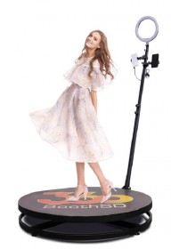 2.5ft Video Spinny Portable 360 Video Spinner Rotating 360 Degree Slow Motion Video Photo Booth For Weddings