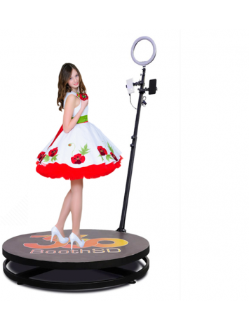 2.5ft 360 Video Spinner Video Spinny With 360 Degree Slow Motion Video Booth For Birthdays