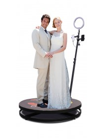 2.5ft Video Spinny Rotating 360 Degree Slow Motion Video Photo Booth Video Spinner For Parties