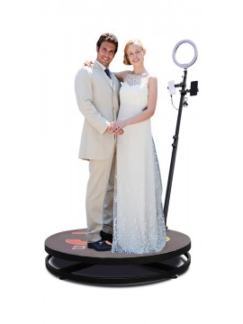 3ft Video Spinny Rotating 360 Degree Slow Motion Video Photo Booth Video Spinner For Parties