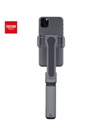 Zhiyun Smooth X 2-Axis Gimbal Stabilizer for iPhone 11 Pro Xs Max Xr X 8 Plus 7 6 SE Android Smartphone Samsung Galaxy Huawei Vivo Mobile Phone Handheld Selfie Stick Gimbal SmoothX (Grey)